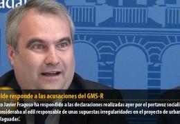 El alcalde responde a las acusaciones del GMS-R