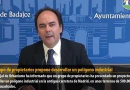 Un grupo de propietarios propone desarrollar un polígono industrial
