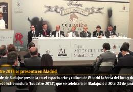 Ecuextre 2013 se presenta en Madrid