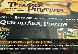 'Quiero ser Pirata', un musical para los más pequeños