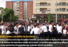 El 'Frutellón' reúne a un millar de escolares