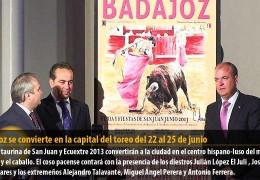 Badajoz se convierte en la capital del toreo del 22 al 25 de junio