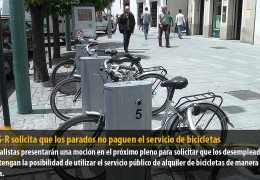 El GMS-R solicita que los parados no paguen el servicio de bicicletas