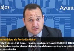 Badajoz se adhiere a la Asociación Civinet