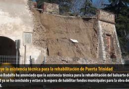 Concluye la asistencia técnica para la rehabilitación de Puerta Trinidad