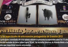 'El Juli' y los espectáculos de arte ecuestre protagonistas de Ecuextre 2013