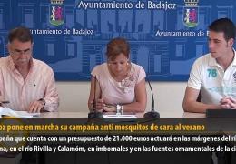 Badajoz pone en marcha su campaña antimosquitos de cara al verano