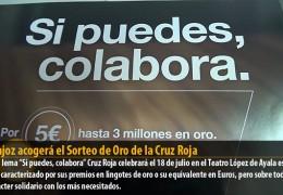 Badajoz acogerá el Sorteo de Oro de la Cruz Roja