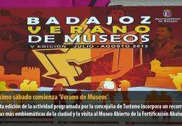El próximo sábado comienza 'Badajoz Verano de Museos'