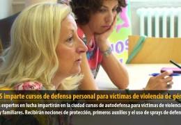El IMSS imparte cursos de defensa personal para víctimas de violencia de género