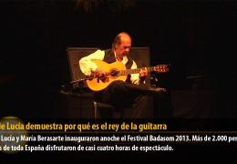 Paco de Lucía demuestra por qué es el rey de la guitarra