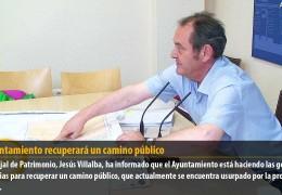 El Ayuntamiento recuperará un camino público