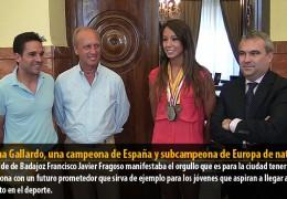 Fátima Gallardo, una campeona de España y subcampeona de Europa de natación