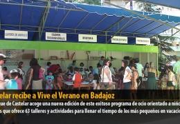 Castelar recibe a Vive el Verano en Badajoz