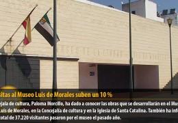 Las visitas al Museo Luis de Morales suben un 10 %