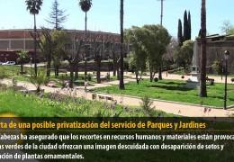 IU alerta de una posible privatización del servicio de Parques y Jardines