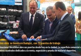 Decathlon abre su tienda en Badajoz, con 73 puestos de trabajo