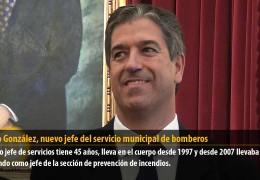 Basilio González, nuevo jefe del servicio municipal de bomberos