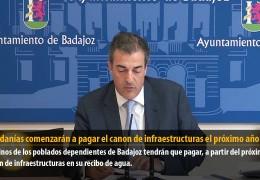 Las pedanías comenzarán a pagar el canon de infraestructuras el próximo año
