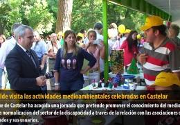 El alcalde visita las actividades medioambientales celebradas en Castelar