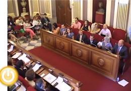 Pleno ordinario de septiembre de 2013 del Ayuntamiento de Badajoz