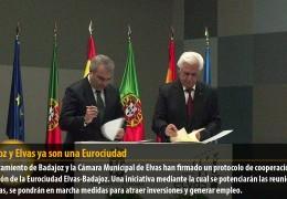 Badajoz y Elvas ya son una Eurociudad