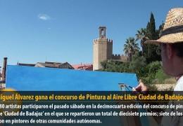 José Miguel Álvarez gana el concurso de Pintura al Aire Libre Ciudad de Badajoz
