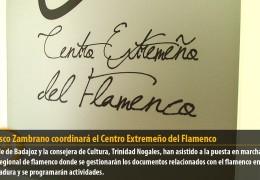 Francisco Zambrano coordinará el Centro Extremeño del Flamenco