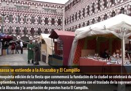 Almossassa se extiende a la Alcazaba y El Campillo
