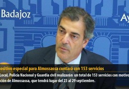 El dispositivo especial para Almossassa contará con 153 servicios