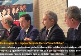El alcalde inaugura la II Expoconferencia Ibérica 'Smart rUrban'