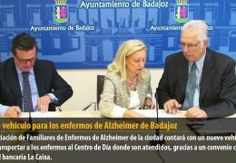 Nuevo vehículo para los enfermos de Alzheimer de Badajoz