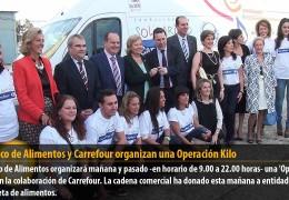 El Banco de Alimentos y Carrefour organizan una Operación Kilo