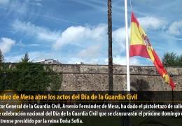 Fernández de Mesa abre los actos del Día de la Guardia Civil