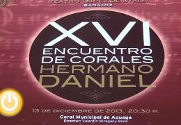 """El Encuentro de Corales """"Hermano Daniel"""" alcanza su decimosexta edición"""