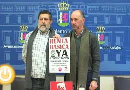 IU convoca una concentración para exigir el pago de la renta básica