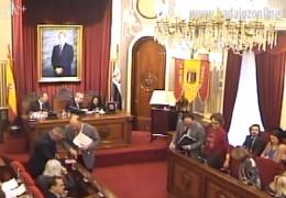 Pleno ordinario de enero de 2014 del Ayuntamiento de Badajoz