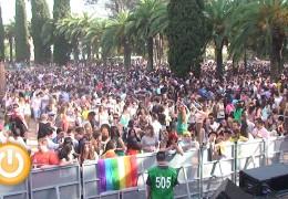 Miles de personas participan en Los Palomos 2014