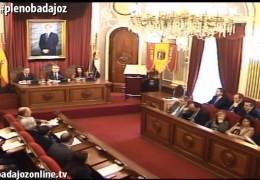 Pleno ordinario y extraordinario de diciembre de 2014 del Ayuntamiento de Badajoz
