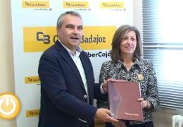 Ayuntamiento y Caja Badajoz-Grupo Ibercaja firman un convenio para el patrocinio de ferias