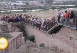 La primera ruta nocturna despierta el interés de más de 150 personas