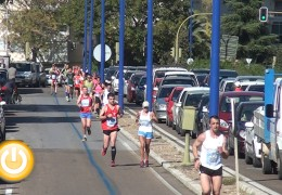 Jesús Núñez y Raquel Gómez se coronan en la media maratón