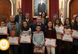 """Entregados los premios del concurso """"Badajoz, mil años de historia"""""""