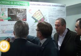 El alcalde y Del Moral presentan el proyecto de la Plataforma Logística