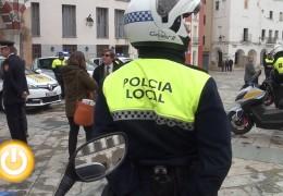 Las denuncias de tráfico descienden un 35% en Badajoz