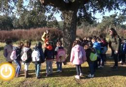 Medio centenar de niños visitan el parque Tres Arroyos