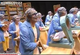Murgas Carnaval de Badajoz 2015: Los Niños en  Semifinales