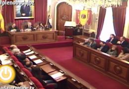 Pleno extraordinario de marzo de 2015 del Ayuntamiento de Badajoz