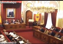 Pleno ordinario de marzo de 2015 del Ayuntamiento de Badajoz