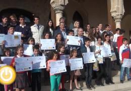 Entregados los premios escolares 'Mi tienda favorita'